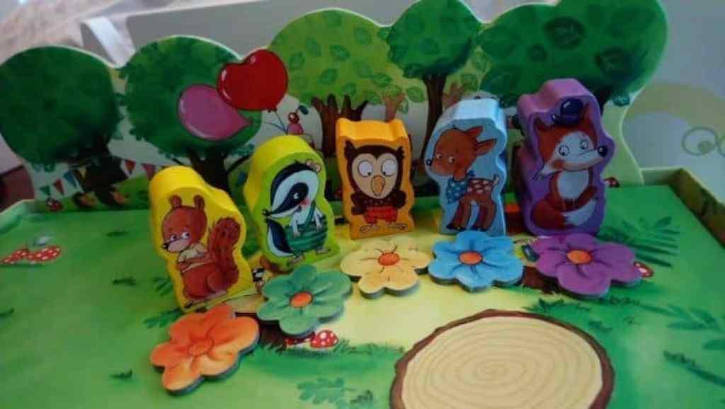 La fiesta del bosque de los duendes de HABA