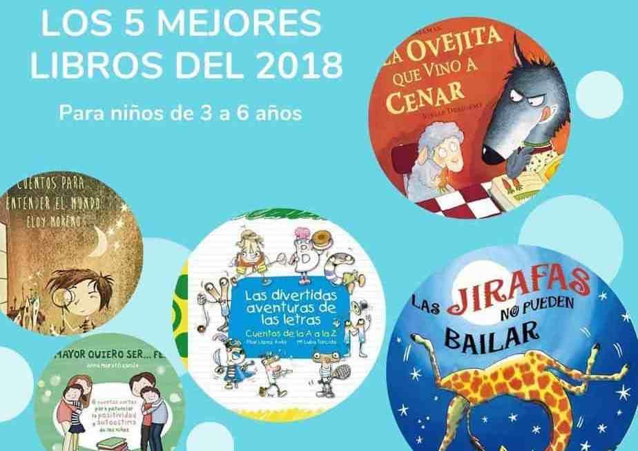 Los 5 mejores libros para niños de 3 a 6 años del 2018