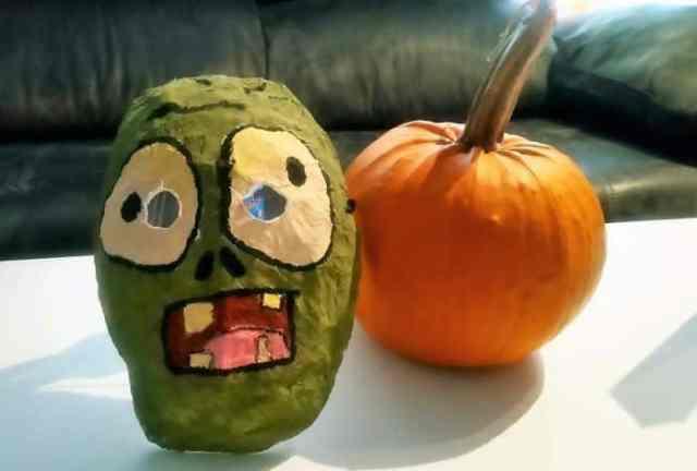 Máscara de Plants vs Zombies
