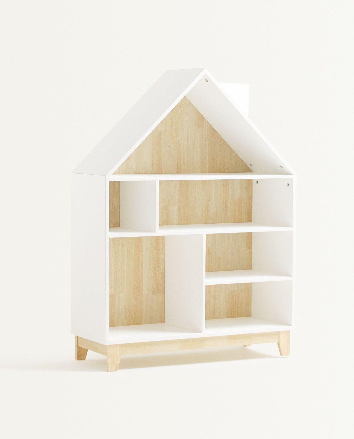 Estantería con forma de casa para niños de Zara Home