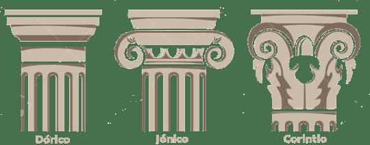 Image result for imagen de las ordenes arquitectonica en masoneria