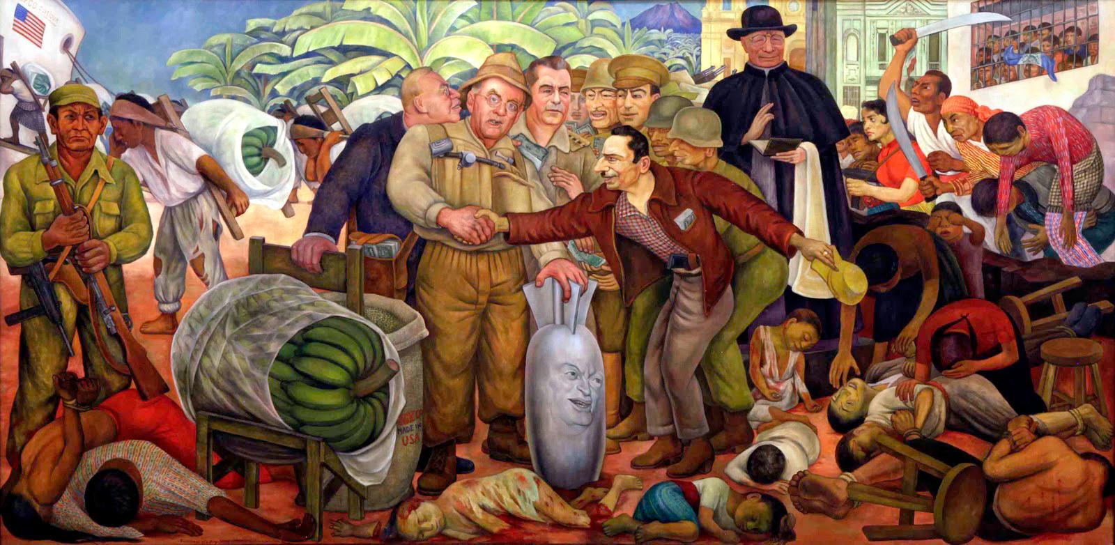 Banane e prove false. Guatemala 1954