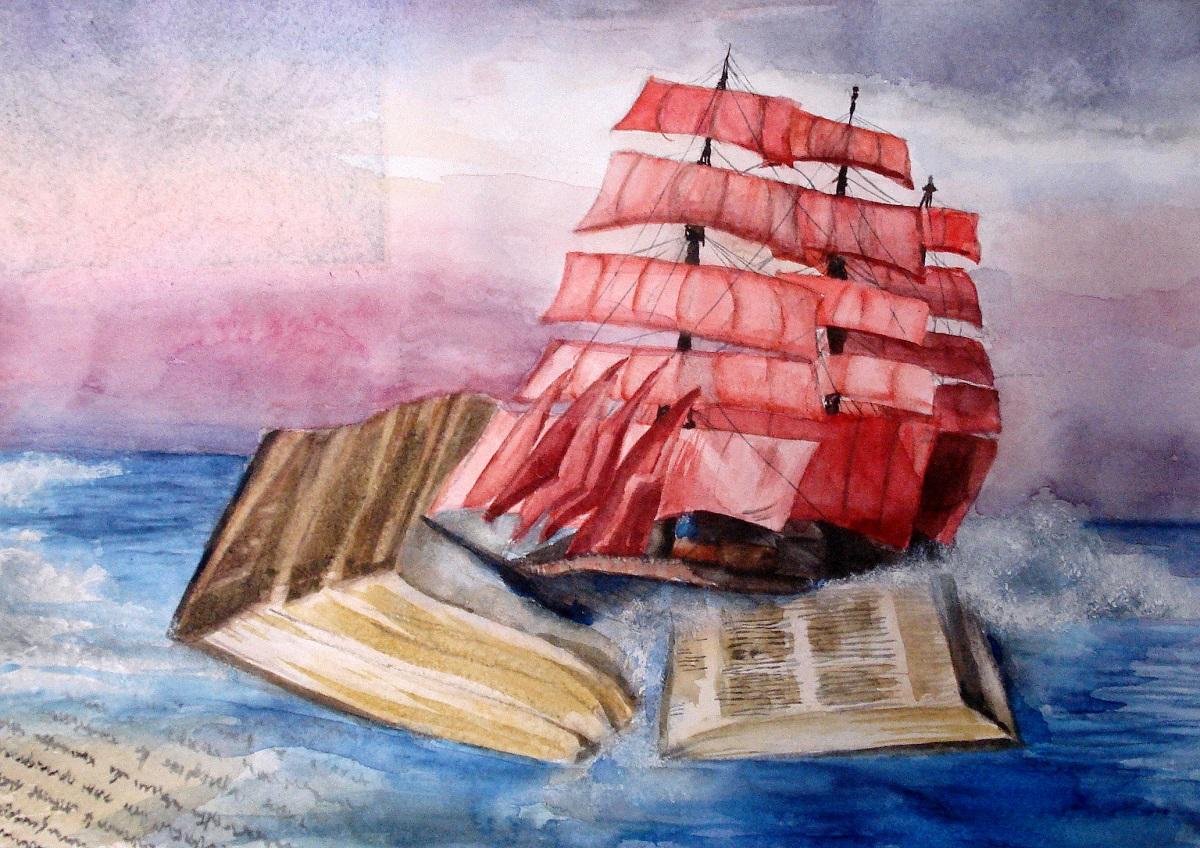 Lo scrittore Aleksandr Grin e le Vele Scarlatte
