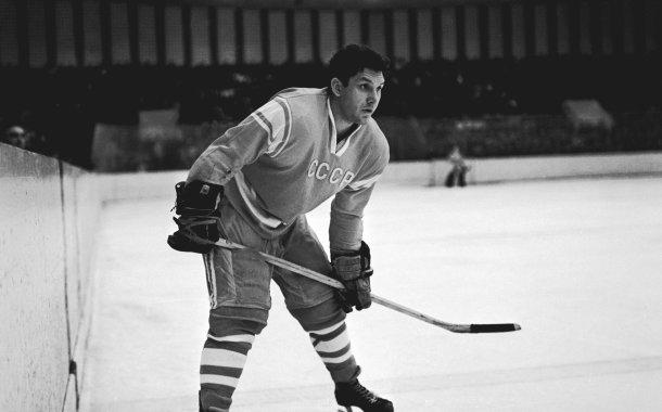 Il più medagliato giocatore di hockey di tutti i tempi Aleksandr Pavlovič Ragulin