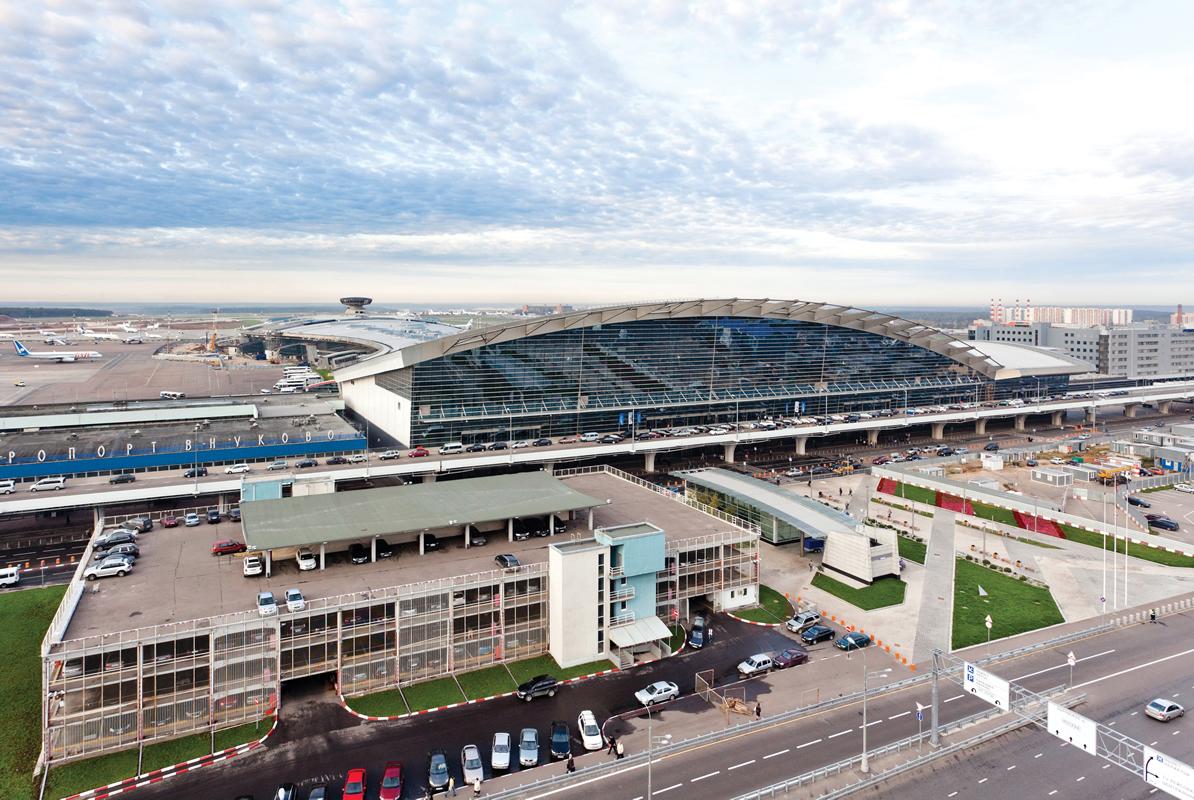 L'aeroporto Vnukovo di Mosca