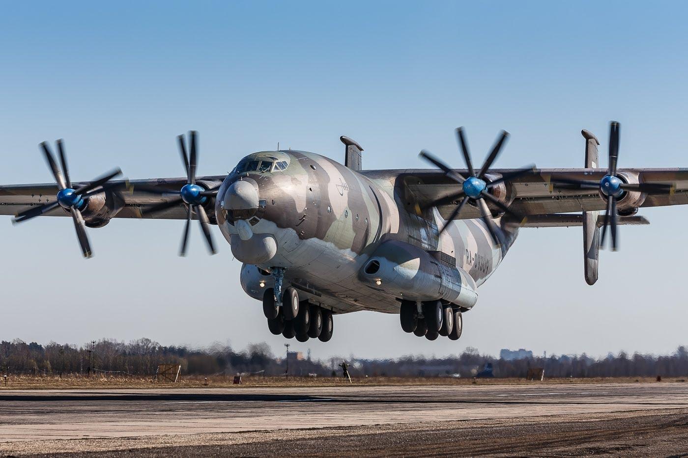 AN-22 «Antej»: il più grande velivolo a turboelica al mondo