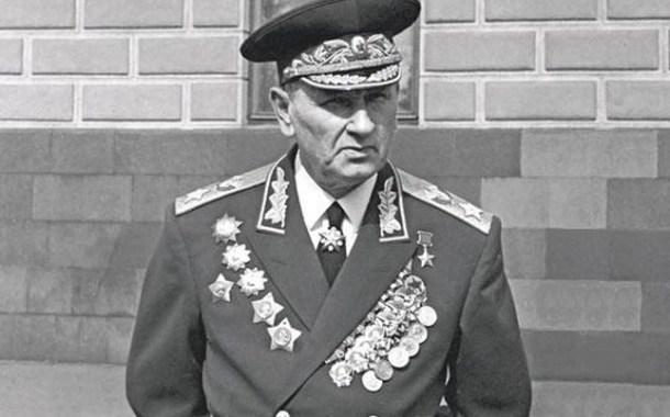 Il Maresciallo dell'Unione Sovietica Andrej Antonovič Grečko