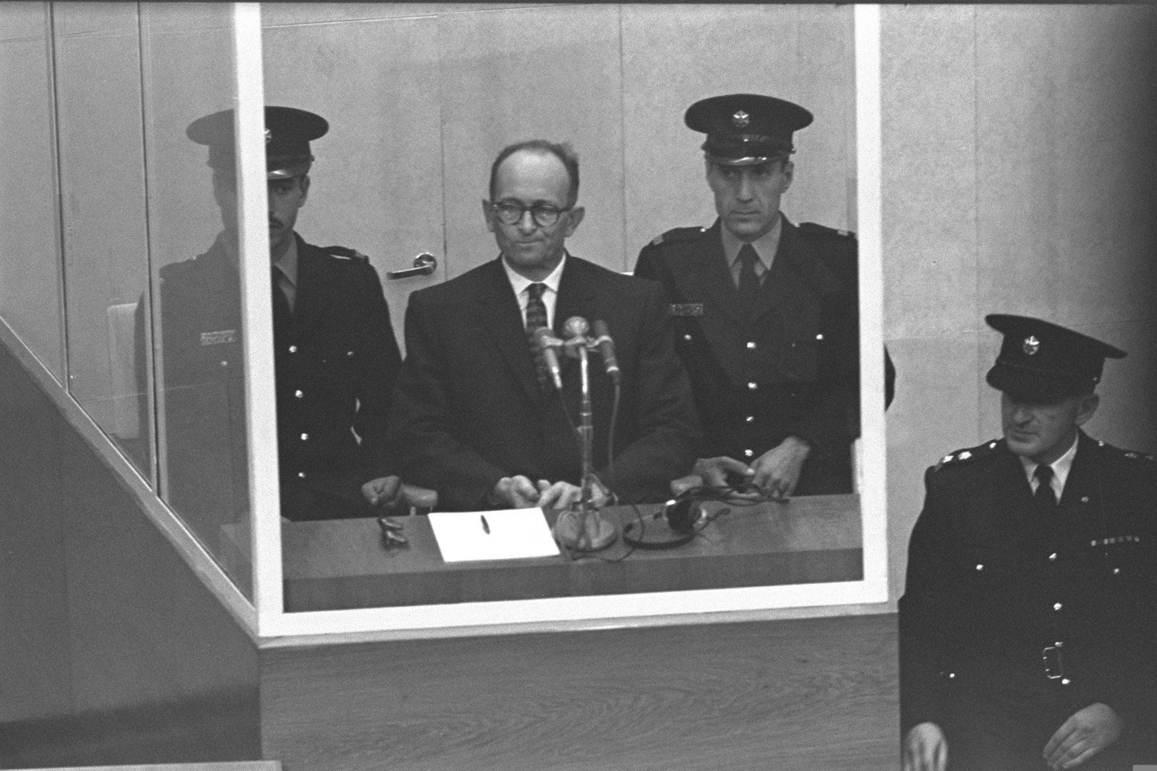 Il criminale nazista Adolf Eichmann protetto dalla CIA