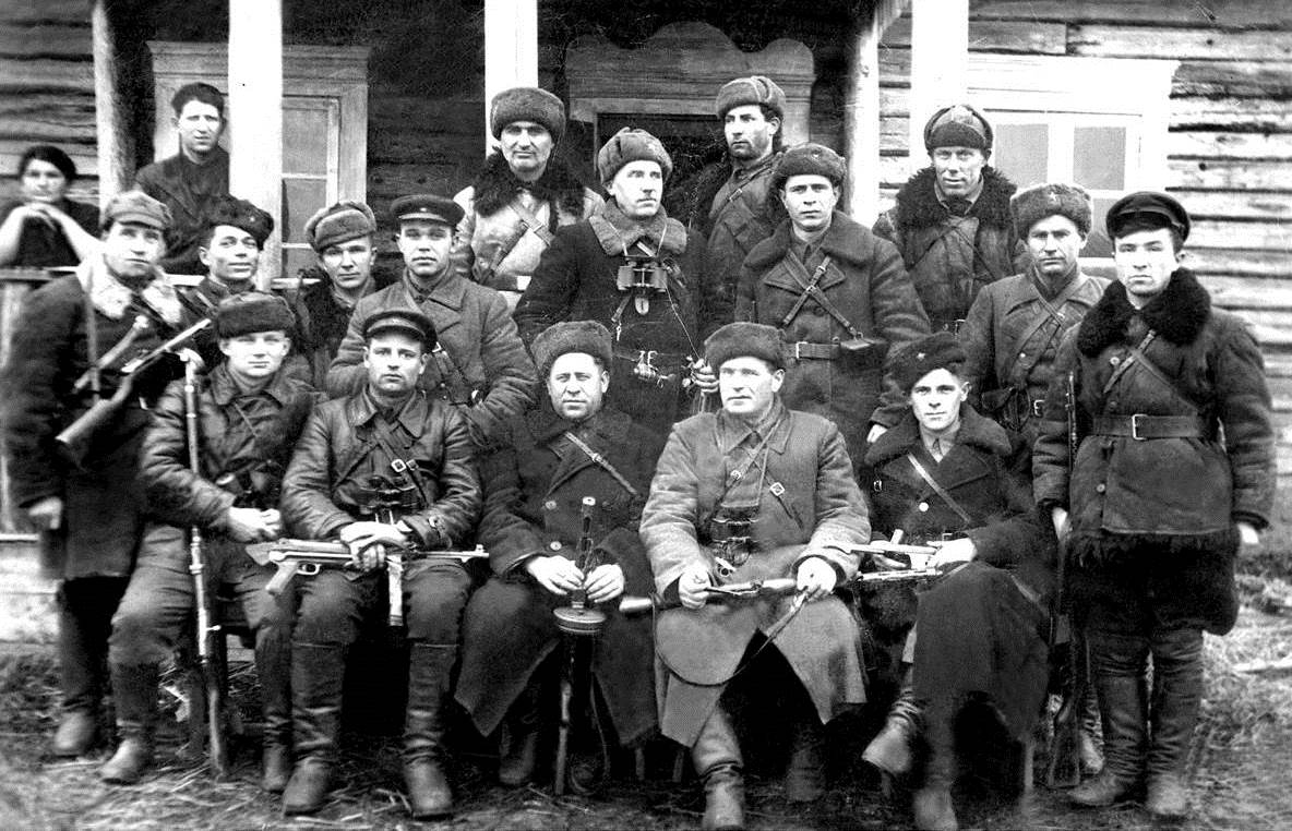 Aleksej Efimovič Kleščëv, il capo dei partigiani di Pinsk