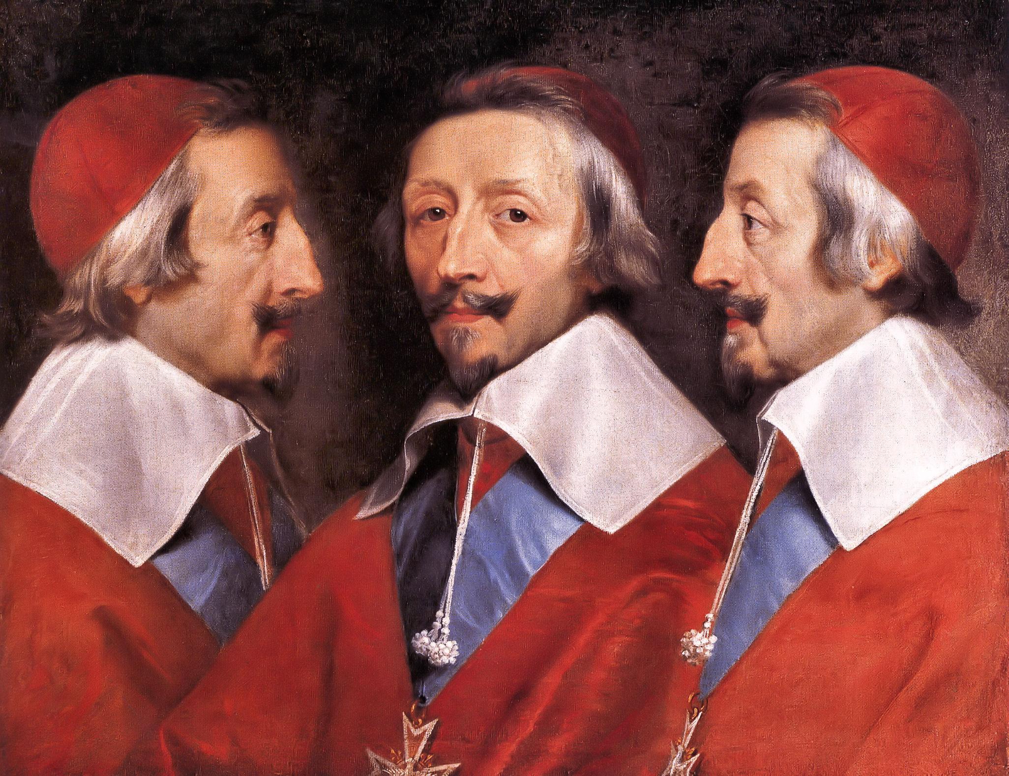La storia del cardinale Richelieu