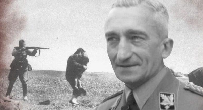 L'esecrabile individuo a capo della polizia criminale del Terzo Reich