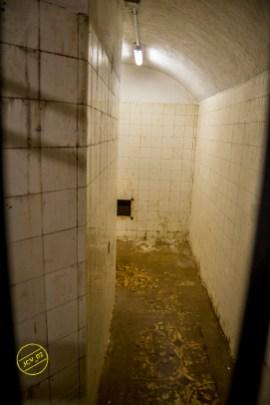 Sala del pozo y tanque de agua