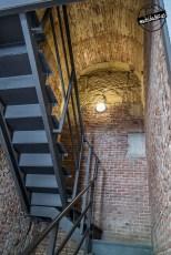 Escalera de subida al mirador