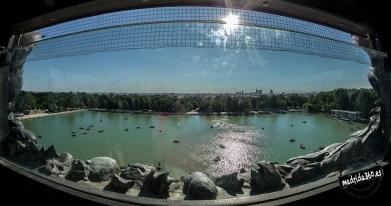 Vista al lago desde el mirador