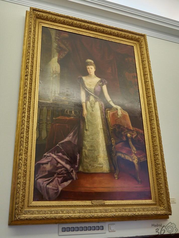Reina doña María Cristina de Habsburgo Lorena