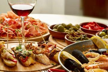 jedlo v madride