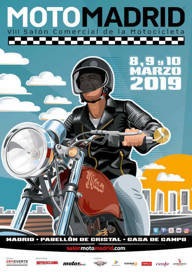MotoMadrid 2019 calienta motores para celebrar su octava edición 1