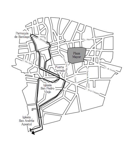 Procesiones de Miércoles Santo en Madrid: información, recorrido y horarios 1