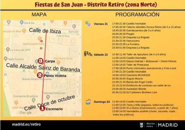 Fiestas de San Juan 2019 en la 'playa' de Retiro 3