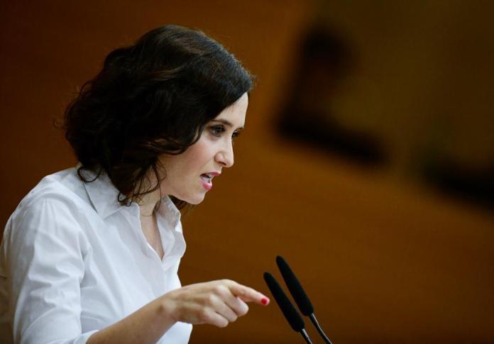 Isabel Díaz Ayuso presidenta de la Comunidad de Madrid