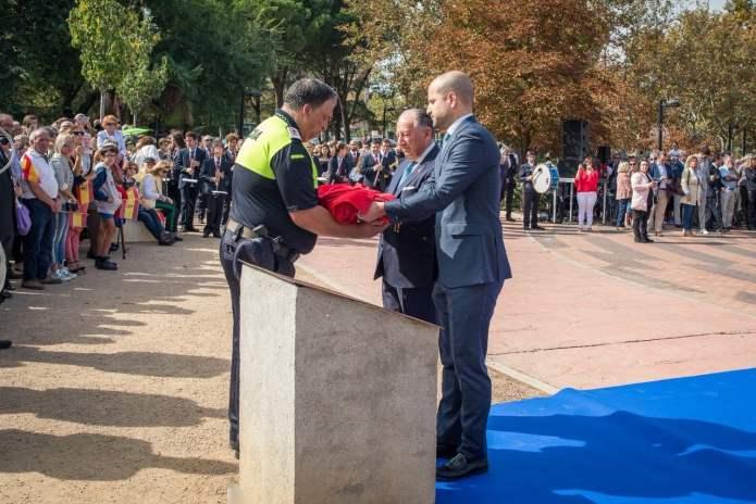 Álvarez Ustarroz reivindica el patriotismo en el homenaje a la Bandera en Majadahonda 4