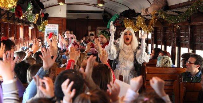 Tren Navidad Madrid