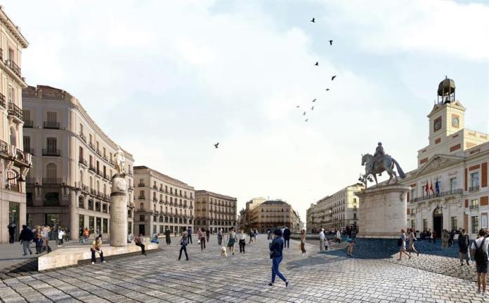 El cambio radical de la calle de Alcalá 1