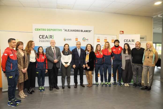 La nueva instalación deportiva en Getafe de CEAR favorecerá la integración de refugiados 1