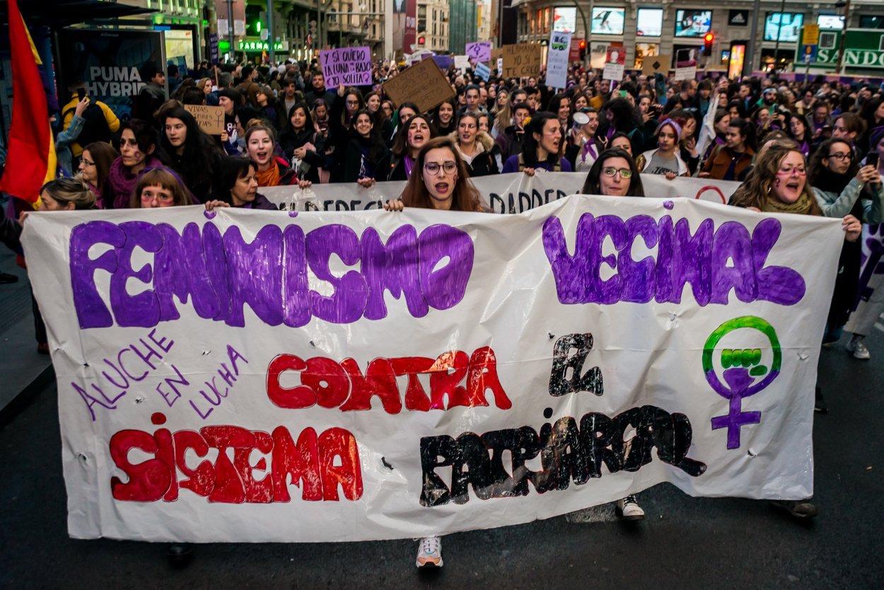 El 8M en Madrid en fotos 13