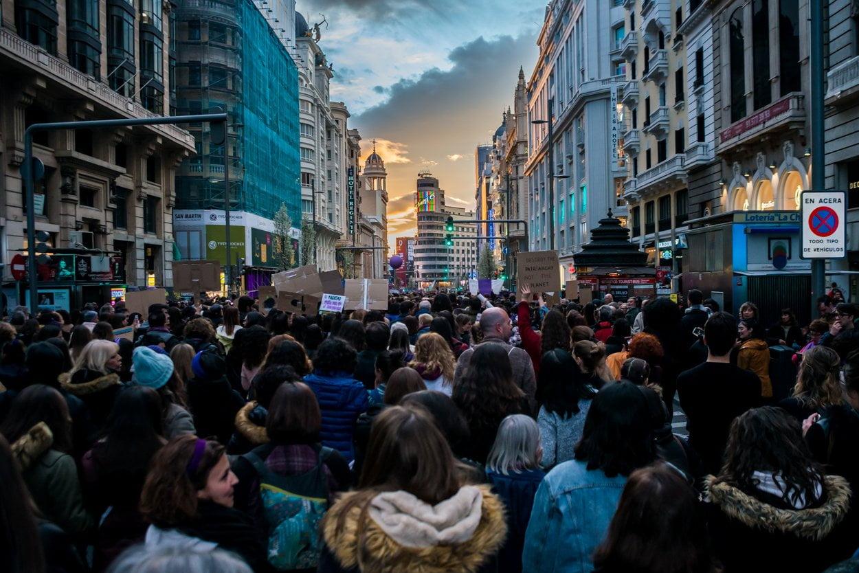 El 8M en Madrid en fotos 14