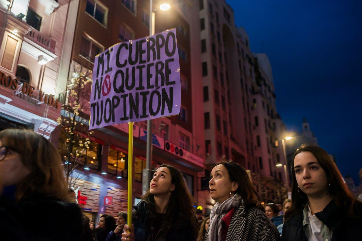 El 8M en Madrid en fotos 24