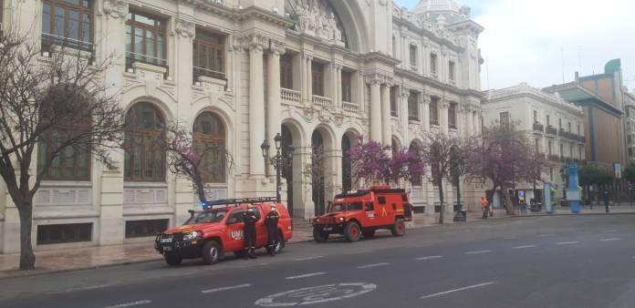 """Los militares hacen """"reconocimientos previos"""" en Madrid 1"""