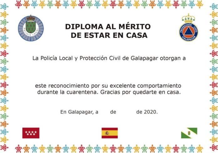 Galapagar| Un diploma a los niños por su comportamiento durante el Covid-19 1