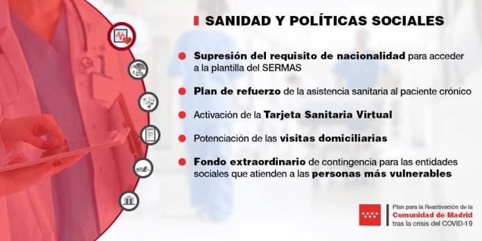 Un plan con 30 medidas para reactivar la Comunidad de Madrid 4