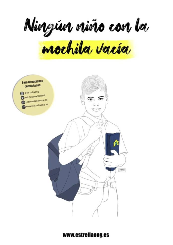 'Ningún Niño/a con la mochila vacía', la iniciativa para conseguir material escolar 1