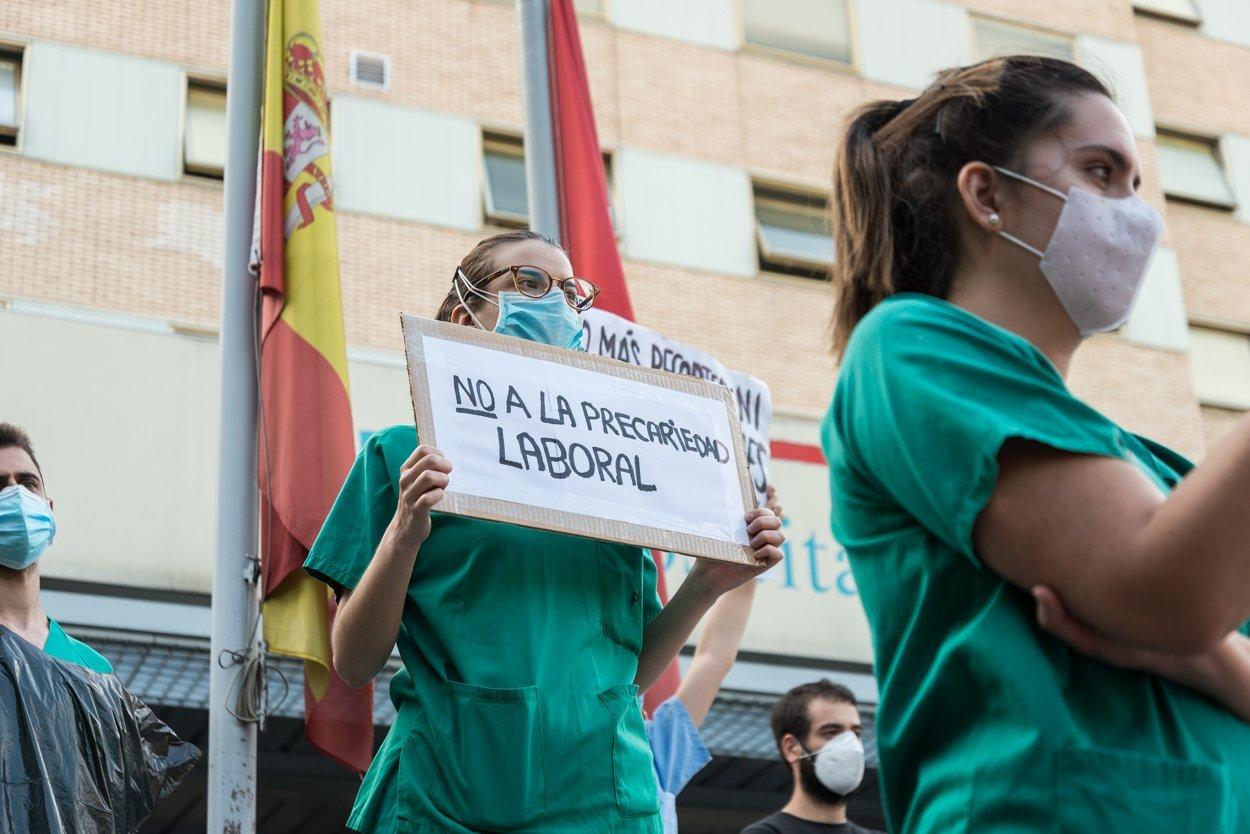 Sanitarios madrileños piden más 'refuerzos' 3