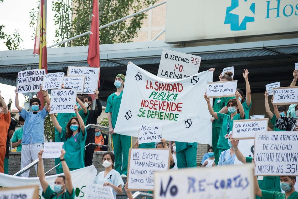 Sanitarios madrileños piden más 'refuerzos' 8