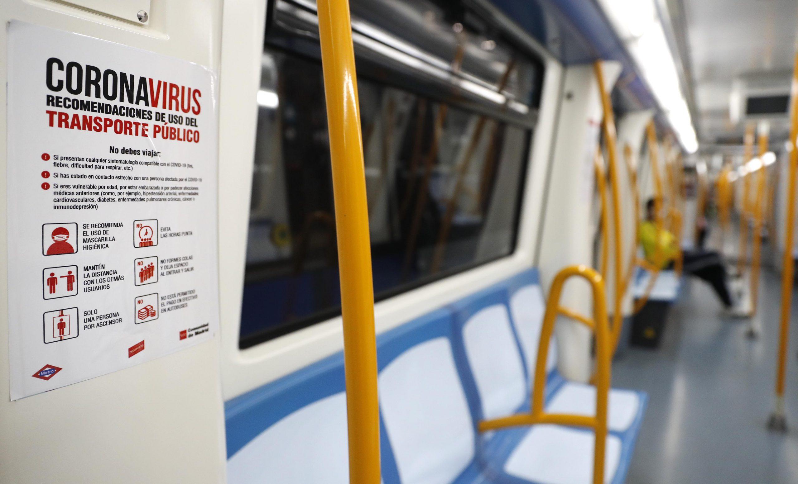 No será igual, pero será seguro: así viajaremos en Metro y EMT 5