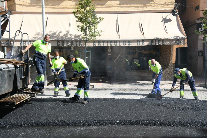 Operación Asfalto 2020 en Madrid: 659 calles y 1.600 empleos 2