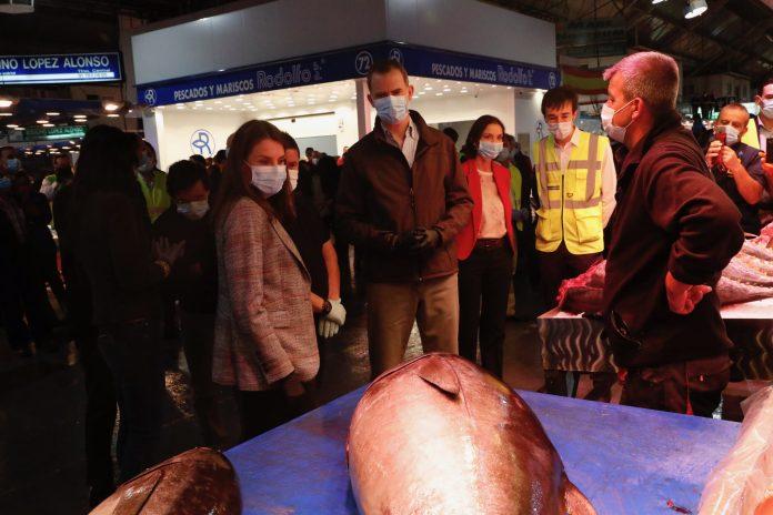 Felipe y Letizia visitan Mercamadrid: un recorrido 'real' a las 5:30 am 9