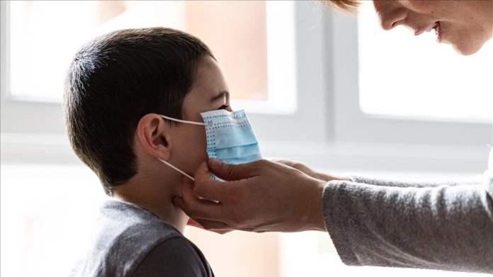 Reparto de cerca de 6000 mascarillas infantiles ante el uso obligatorio de estas.