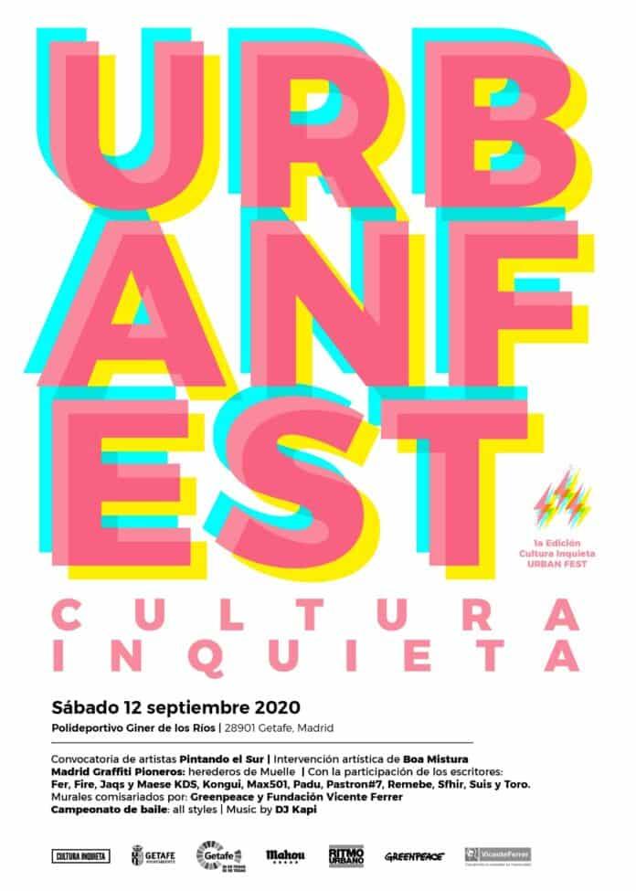 El Cultura Inquieta de Getafe 2020 será un festival de arte urbano 1