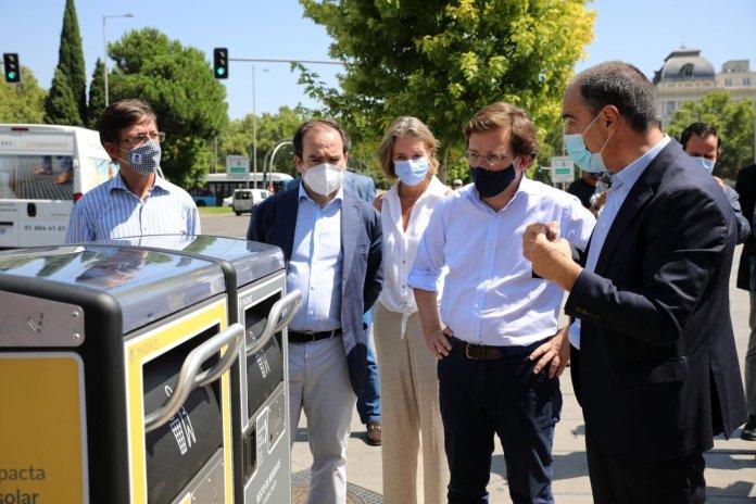 Madrid, a la vanguardia en limpieza con las más 1.300 papeleras inteligentes 1