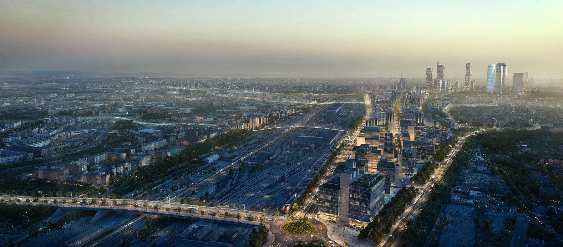 Madrid Nuevo Norte, la nueva arteria del transporte en Madrid 1