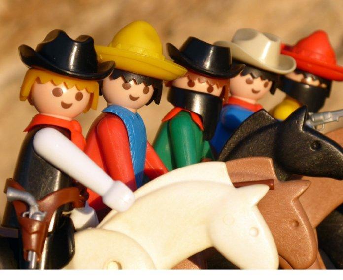 Móstoles recibe a los 'click' de Playmobil del lejano Oeste 1
