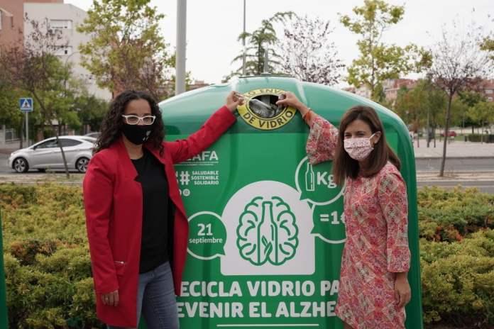 Alcobendas y Sanse apoyan la campaña solidaria de Ecovidrio en su lucha contra el Alzheimer 1