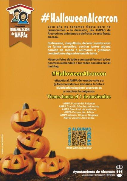 Los vecinos de Alcorcón celebrarán Halloween en las redes sociales 1