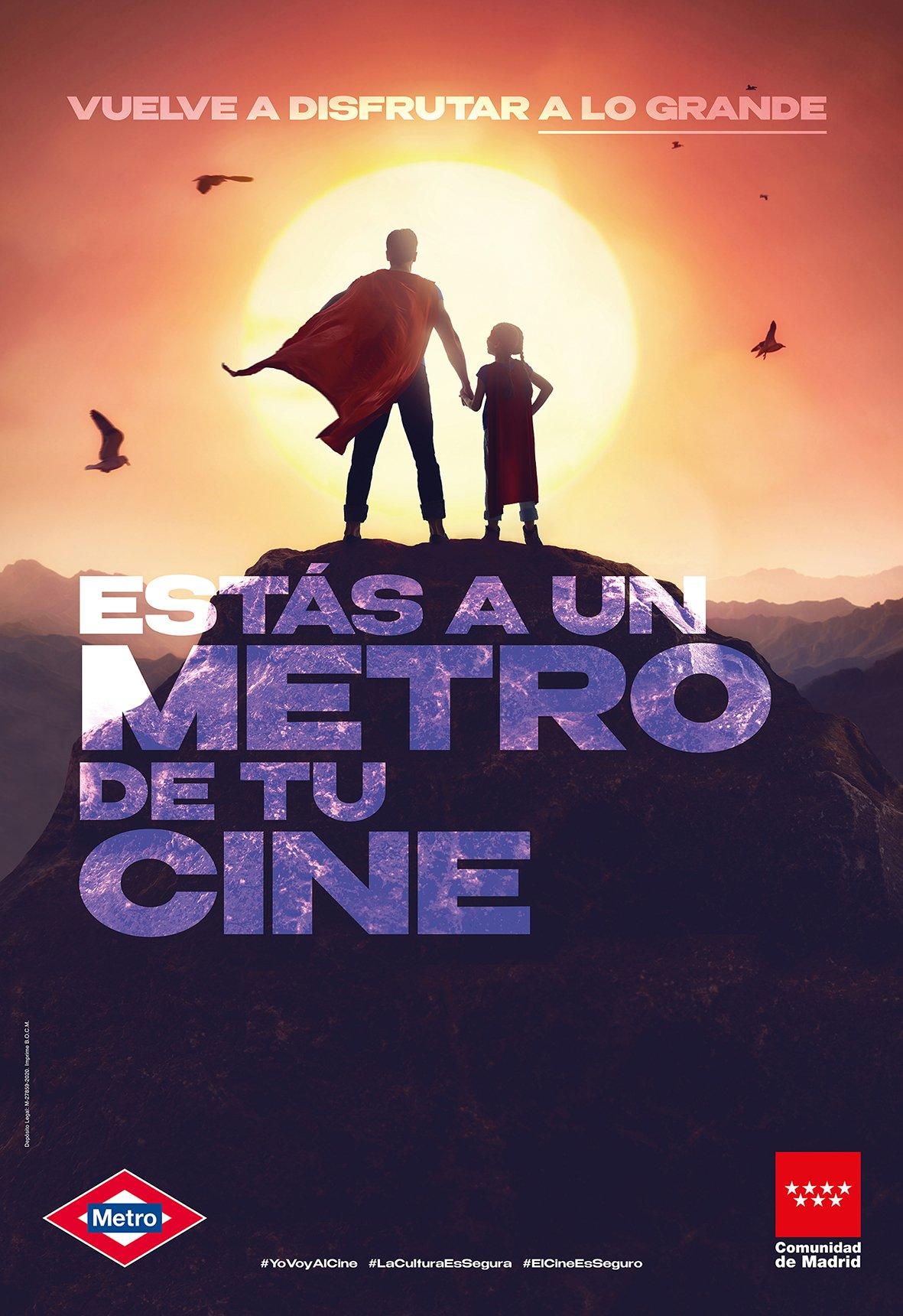 'A un metro de tu cine' promueve la asistencia a las salas 1