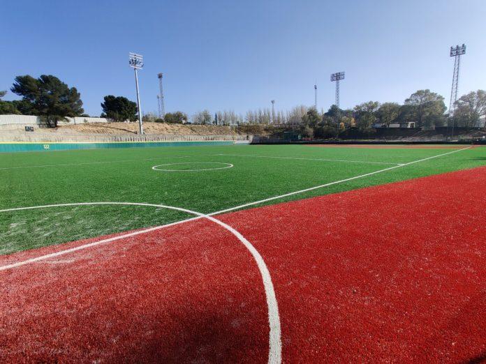 Nuevo campo de béisbol en La Elipa