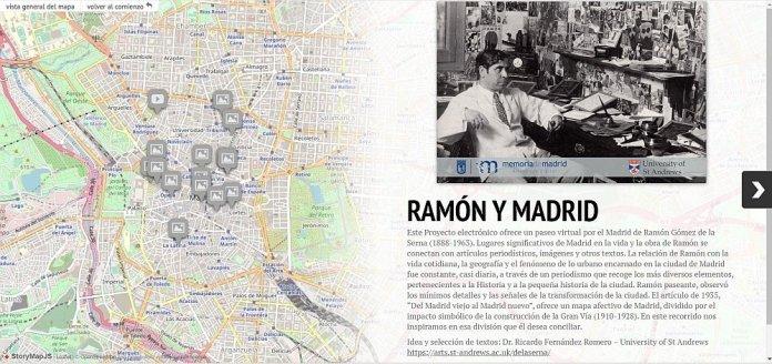La App MiraMadrid nos muestra la capital vista por Ramón Gómez de la Serna 1